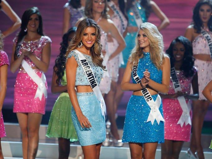 Valentina Ferrer: Photos: Miss Universe Pageant 2015 In Miami