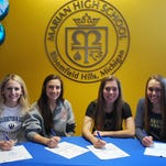 Student-athletes pen national letters of intent