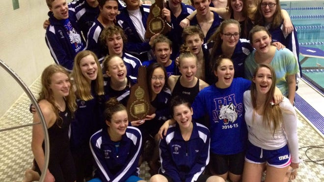 In 2016, the Oyster River High School swimming and diving teams swept the Division II championships, which the Bobcats have done five times since 2009.