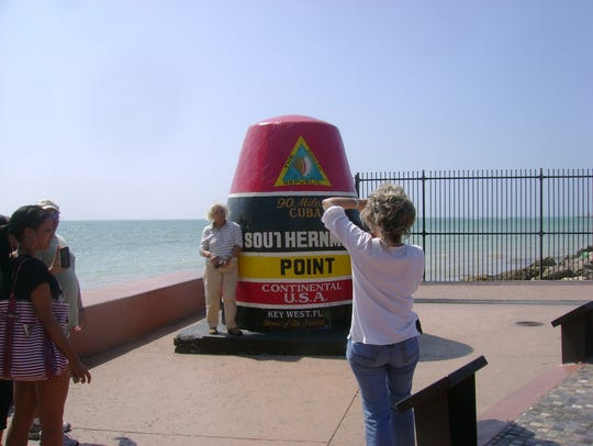 Despite the label, this buoy does not occupy the southernmost