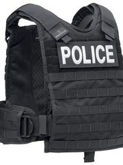 This Protech TAC PH plate harness is an example of some of the rifle-resistant body armor the Wichita Falls Police Department is considering if they receive a grant from the Office of the Governor, Criminal Justice Division for the Rifle Resistant Armor Grant Program.