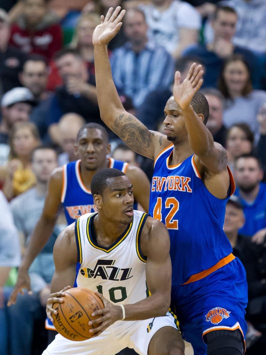 NBA: New York Knicks at Utah Jazz
