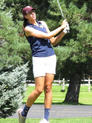 South Lyon junior Elizabeth Harding earned Division 2 All-State honors in girls golf.