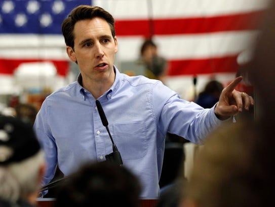Josh Hawley launches his campaign for the U.S. Senate