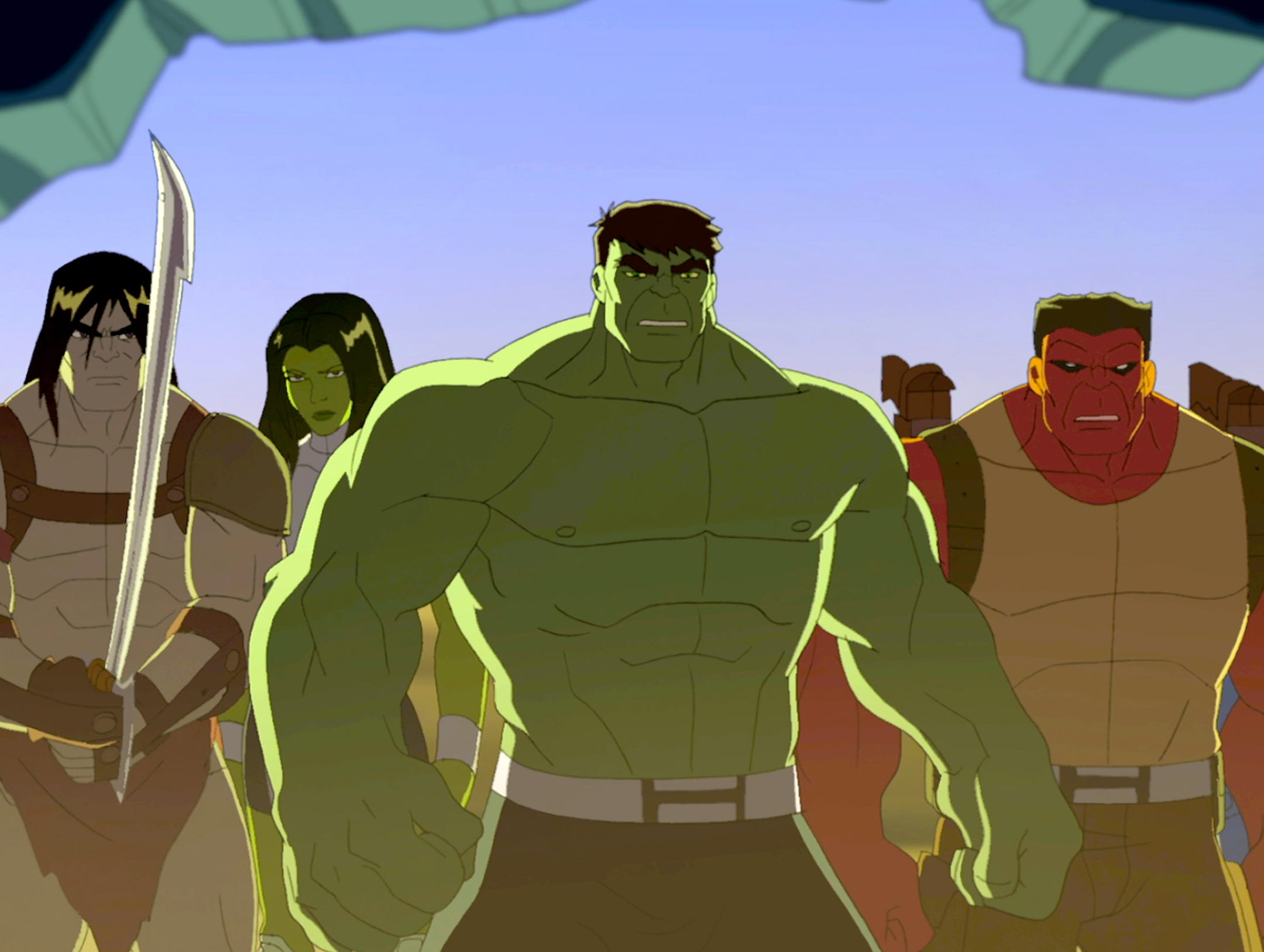 Hulk family