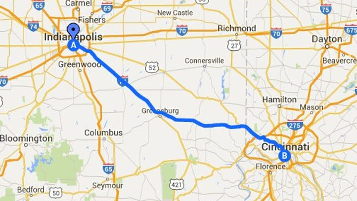 Hit the Road - Cincy Day Trip!