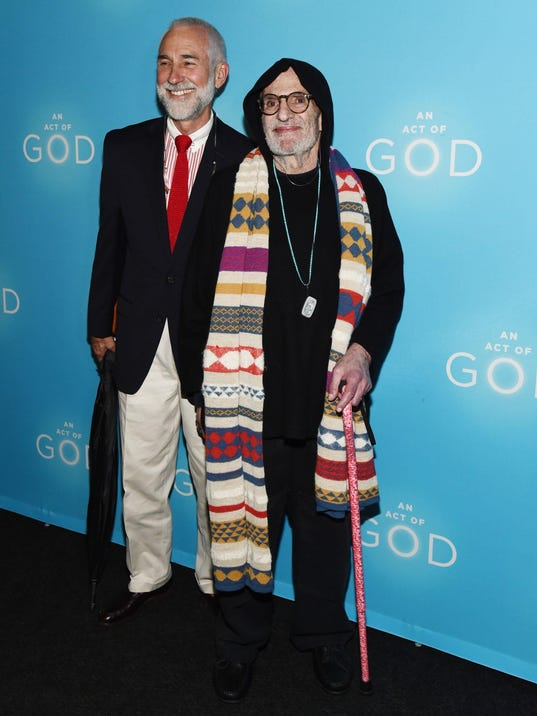 """""""An Act Of God"""" Broadway Opening Night - Arrivals And Curtain Call"""