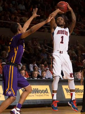 Auburn guard Kareem Canty scored 14 points in a 80-68 loss vs. LSU on Feb. 2.