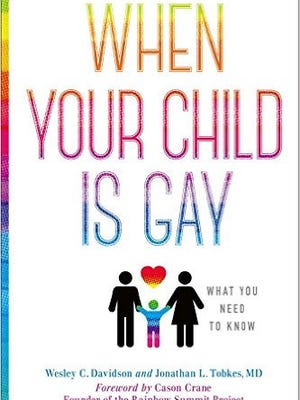 """""""When Your Child is Gay,"""" co-authored by Wesley C. Davidson of Vero Beach, is available at Barnes & Noble and on amazon.com."""