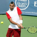 Nick Kyrgios was suspended for 28 days from any ATP-sanctioned event and fined an additional $25,000 on Monday for his comments this month about Stan Wawrinka at the Rogers Cup in Montreal.