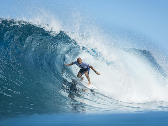 Kelly Slater earlier this month  told WSL media members