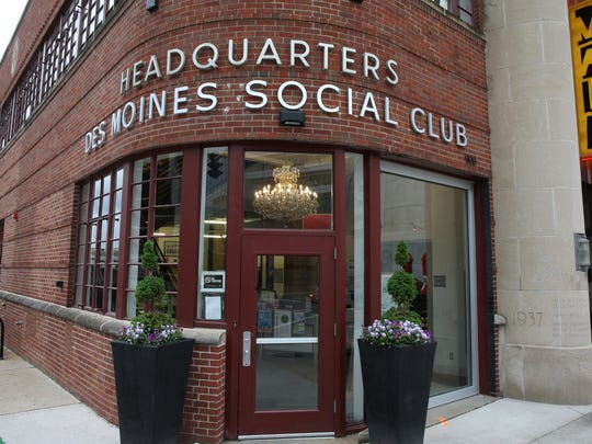 The Des Moines Social Club offers creative venues for