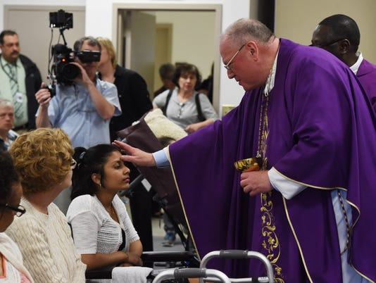 Cardinal Dolan visits ArchCare