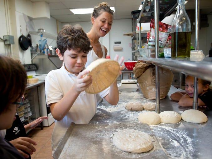 Little Chefs Cooking Camp student Alex Castronovo,