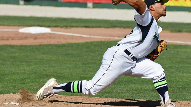 Starter Angelo Baez took the loss as the Bravehearts fell to the Bees, 6-0, in the season opener on Thursday.