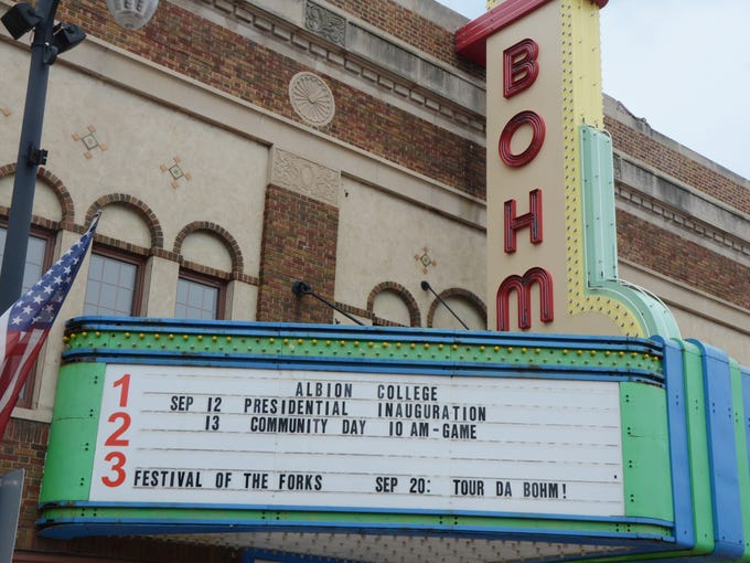 The remodeling of the Bohm Theatre in downtown Albion is almost complete.