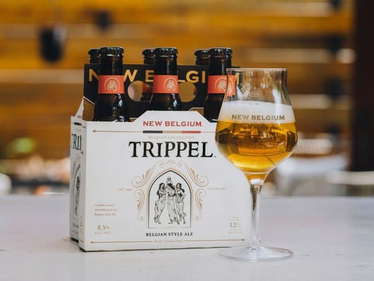 Trippel is a Belgian-style golden ale from New Belgium