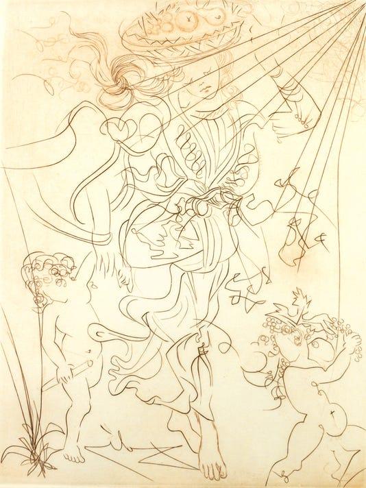 Salvador Dali's Autumn