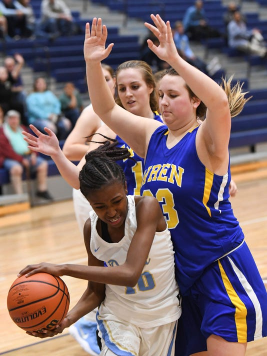 Wren 43 Daniel 38 girls basketball