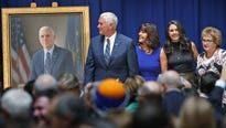 Vice President Pence reported Wednesdaypaying more than $200,000 in leftover gubernatorial campaign funds to the Indianapolis law firm that is handling the release of his gubernatorial emails.
