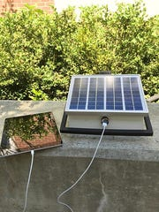 Ziad Admed, invents a portable 3D printed solar paneled charger