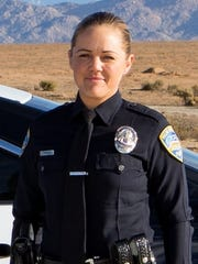 Palm Springs police Officer Lesley Zerebny