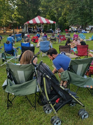 This photo from last year's Groovin' on Grovemont concert series shows what an easy good time the free events are.