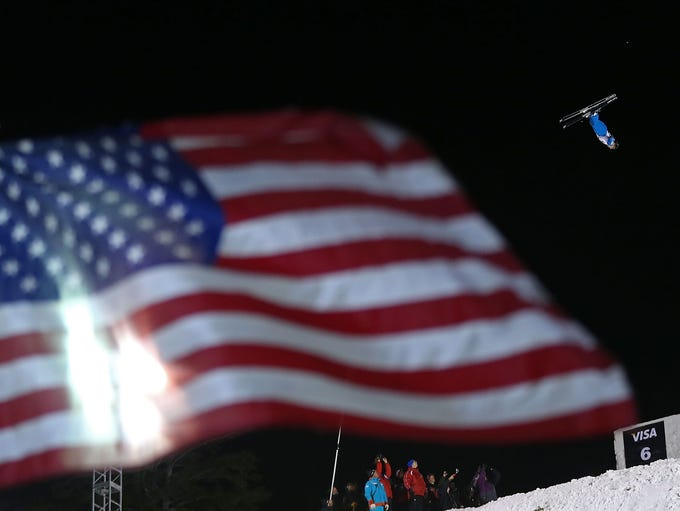 PARK CITY, UT - JANUARY 10:  Jonathon Lillis competes