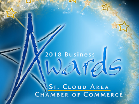 The 2018 Business Awards Luncheon is Tuesday.