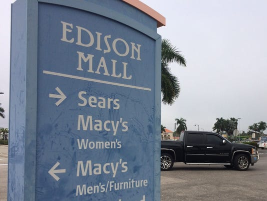 Edison Mall sign
