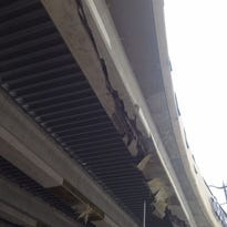 The City of Carmel says preliminary damages to the Keystone Parkway overpass at 106th Street could cost between $300,000 and $500,000.
