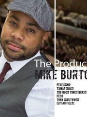 Mike Burton is part of the Night of Musical Artistry, Friday night at Duling Hall.