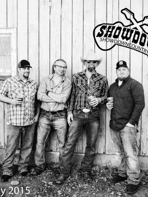 Hear the high-energy Nashville Honky Tonk tunes of Showdown 9 p.m. Dec. 9 at Half Penny Bar & Grill.
