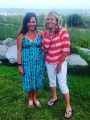 Columnist Jenna Intersimone (left) and her mom.
