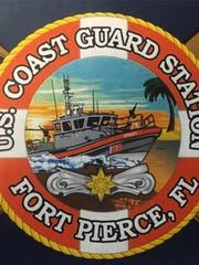 U.S. Coast Guard Station Fort Pierce emblem.