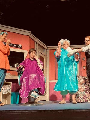 """Steel Magnolias"" is a show about the bonds of female friendship. The play will wrap up production this weekend at the Finley theater in Sherman."