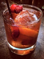 The Spiced Cranberry Old-Fahioned.