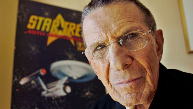 "In this Aug. 9, 2006 file photo, actor Leonard Nimoy poses for a photograph in Los Angeles. Nimoy, famous for playing officer Mr. Spock in ""Star Trek"" died Friday, Feb. 27, 2015 in Los Angeles of end-stage chronic obstructive pulmonary disease. He was 83."