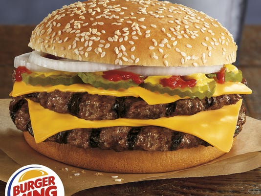Burger King-Quarter Pound Burger