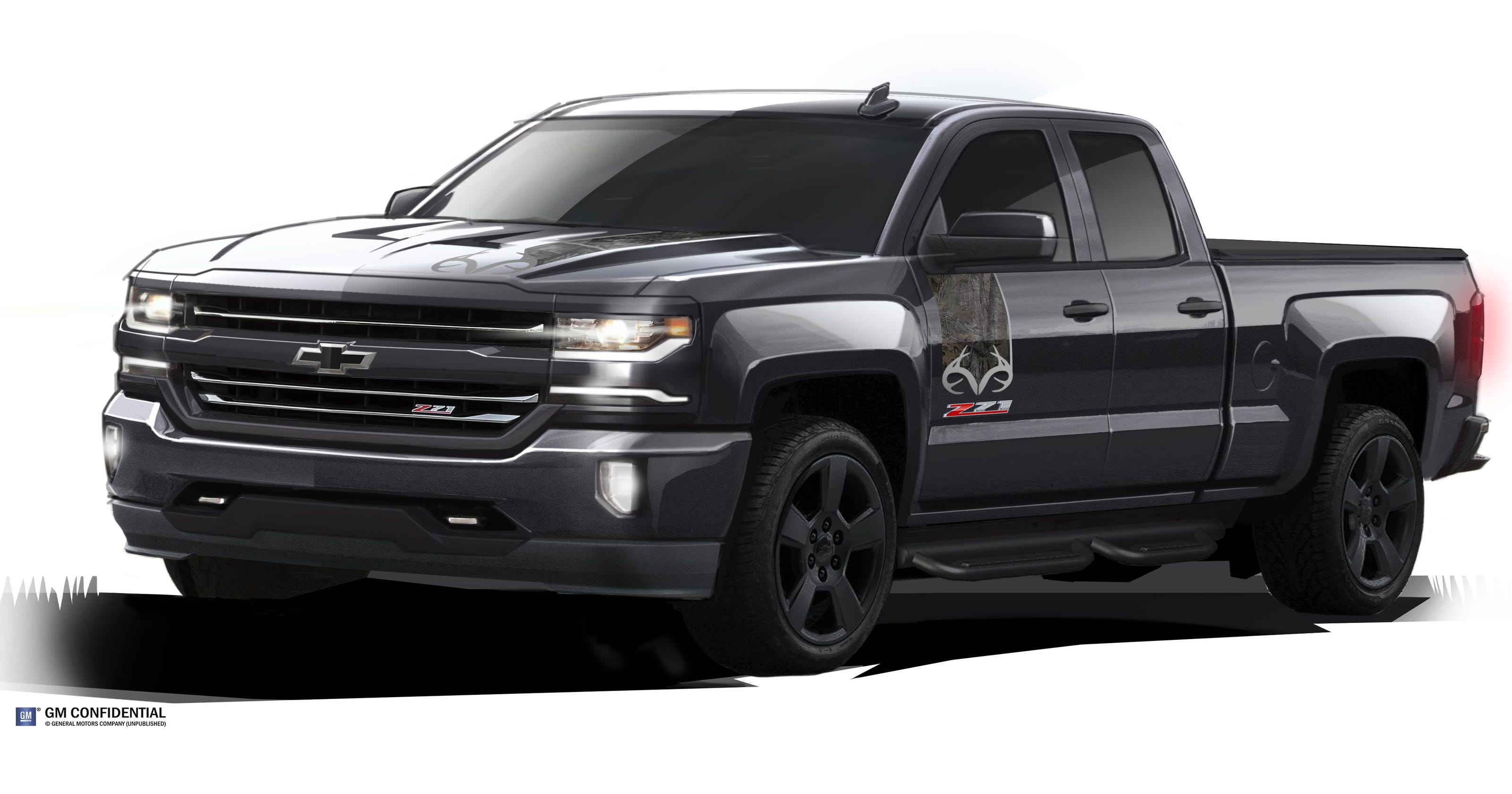 Silverado Special Edition >> Chevy To Launch Silverado Realtree Special Edition Truck