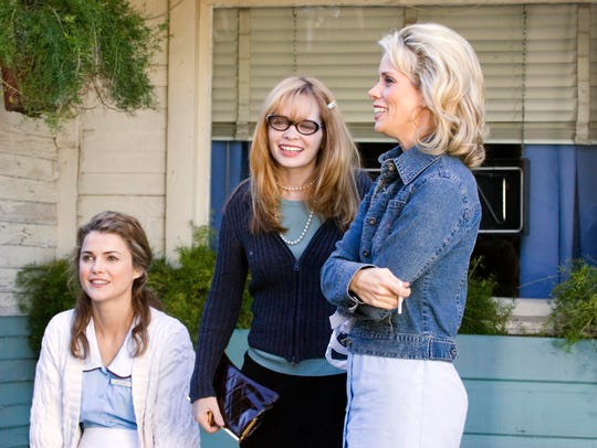 L-R: Keri Russell, writer and director Adrienne Shelly