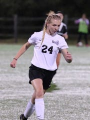 Old Bridge's Nichole Adams is HNT Girls Soccer Co-Player