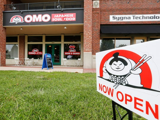 Omo Japanese Soul Food opened in spring 2017 in Chesterfield