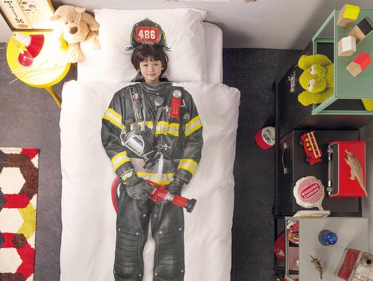 Your child can feel like a sleeping princess or firefighter