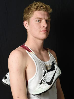 Joe Morrison of Arlington High School is the boys indoor track and field Player of the Year.