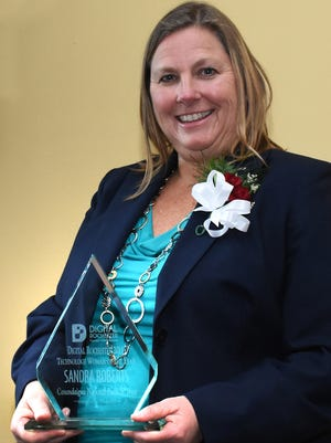 Sandra Roberts is Technology Woman of the Year.