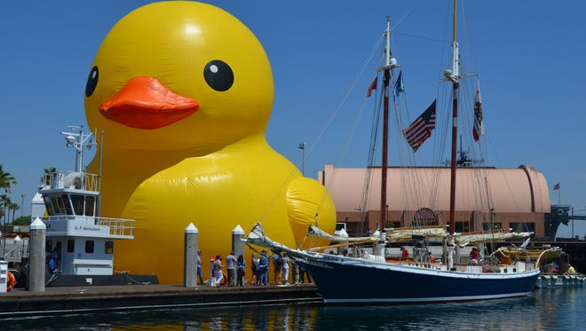The World's Largest Rubber Duck, known as Mama, will be part of the Tall Ship Festival this summer in Green Bay.