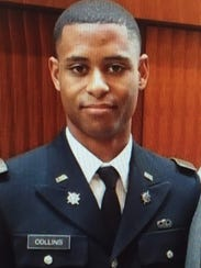 Lt. Richard Collins III, 23, was fatally stabbed Saturday,