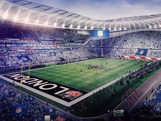 NFL: International Series-Fan Rally