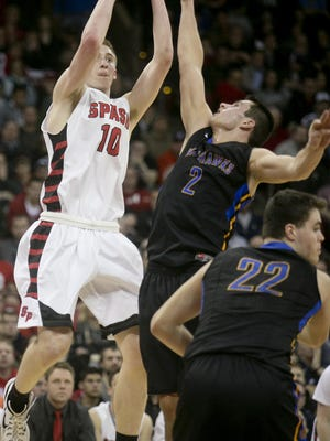 Marquette University recruit Sam Hauser and the top-ranked SPASH boys basketball team could have their hands full with Champlin Park (Minn.) at the Players Challenge in La Crosse on Saturday night.